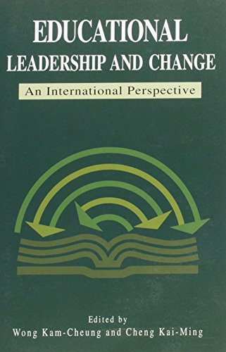 Educational Leadership and Change an International Perspective