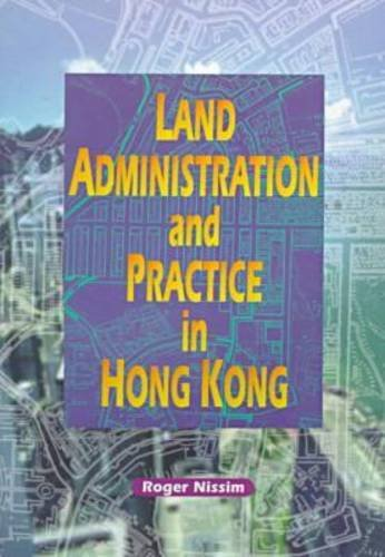 9789622094598: Land Administration and Practice in Hong Kong