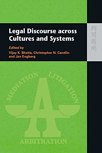 9789622098527: Legal Discourse Across Cultures and Systems