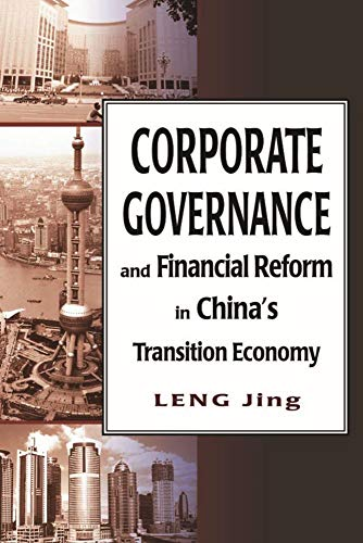 9789622099326: Corporate Governance and Financial Reform in China's Transition Economy: In the Context of Globalization and Transition (HKU Press Law Series) (Hong Kong University Press Law)