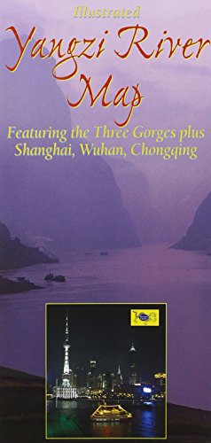 Yangzi River Map: From Source to Sea, Featuring the Three Gorges, Shanghai, Wuhan, Chongqing, &...