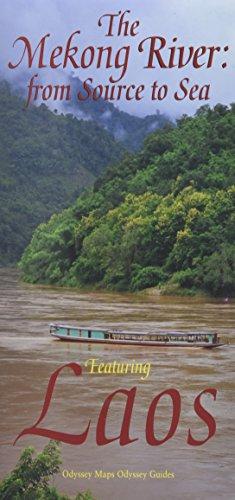 9789622178274: LAOS - The Mekong River Map