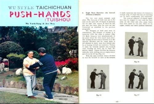 Wu Style Taichichuan Push-hands (Tuishou): Ma Yueh-liang