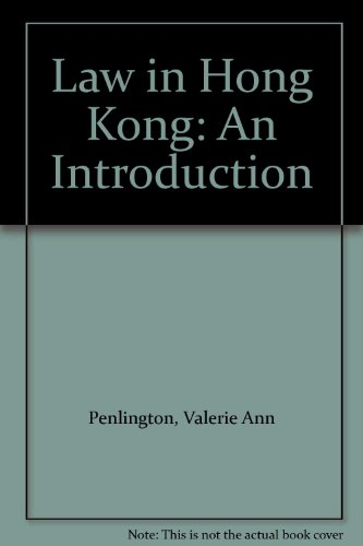 9789623023153: Law in Hong Kong: An Introduction