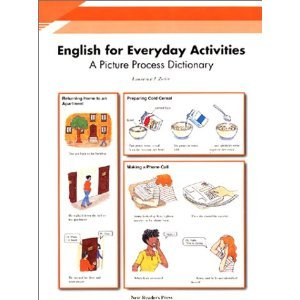 9789623280181: English for Everyday Activities: A Picture Process Dictionary - Multi-Skills Activity Book plus Audio CD