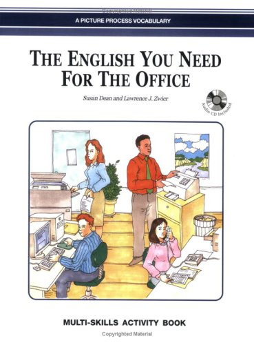 9789623280204: The English You Need for the Office, Multi-Skills Activity Book w/Audio CD