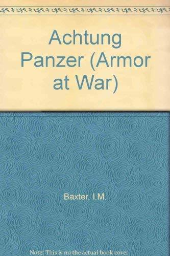 9789623616836: Achtung Panzer (Armor at War)