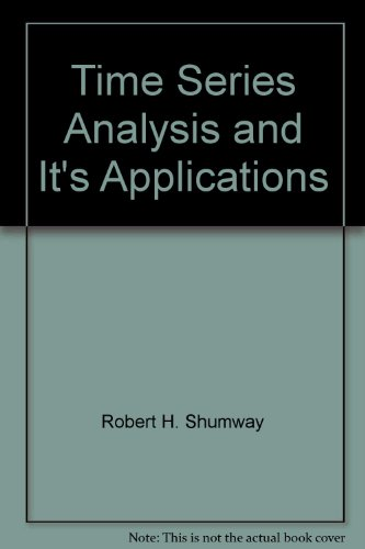 9789624301748: Time Series Analysis and It's Applications