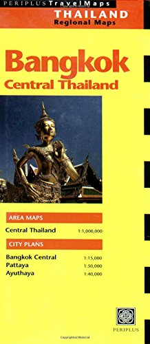 9789625935744: Bangkok Travel Map 3rd Edition (China Regional Maps)