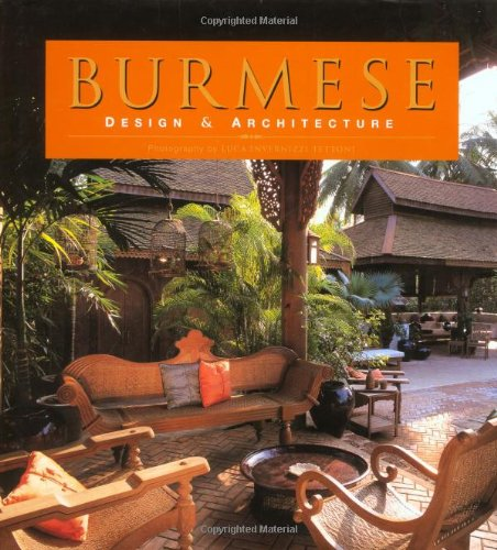 9789625938820: Burmese Design and Architecture