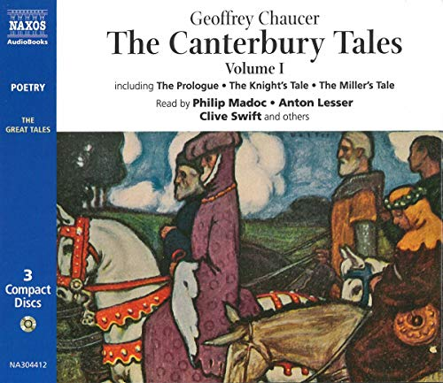 The Canterbury Tales: Audio CDs (Modern English format): v. 1 (The great tales): Chaucer, Geoffrey