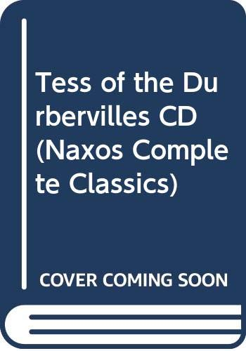 Tess of the Durbervilles CD (Naxos Complete: Thomas Hardy