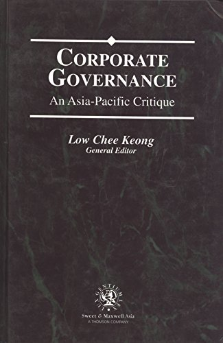 9789626610213: Corporate Governance: An Asia-Pacific Critique