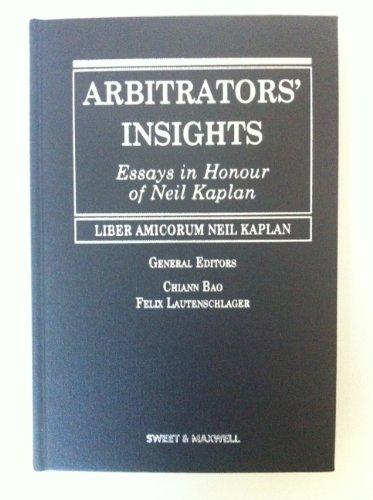 9789626615201: Arbitrators' Insights