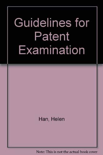 9789627006589: Guidelines for Patent Examination