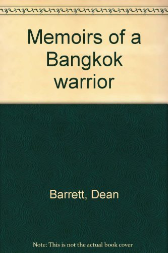 9789627035091: Memoirs of a Bangkok warrior