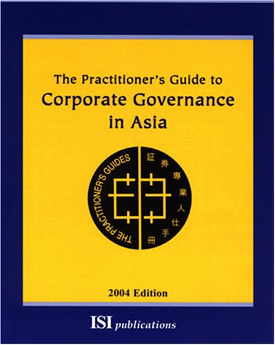 9789627762935: The Practitioner's Guide to Corporate Governance in Asia