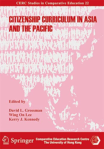 9789628093694: Citizenship Curriculum in Asia and the Pacific (CERC Studies in Comparative Education)