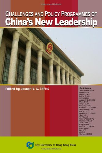 9789629371364: Challenges and Policy Programmes of China's New Leadership