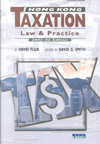 9789629960698: Hong Kong Taxation: Law and Practice
