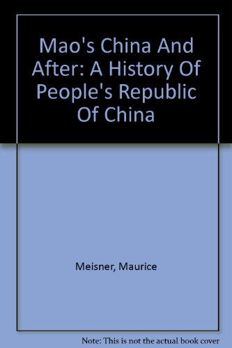 9789629961732: Mao's China And After: A History Of People's Republic Of China (Chinese Edition)