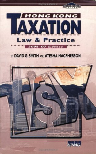 9789629962883: Hong Kong Taxation: Law and Practice
