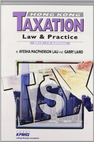 9789629965662: Hong Kong Taxation: Law & Practice 2013-14 Edition
