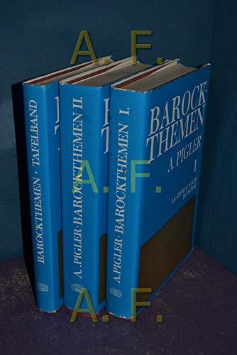 Barockthemen: Eine Auswahl von Verzeichnissen zur Ikonographie des 17. und 18. Jahrhunderts.: ...