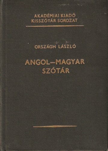 9789630529754: English Hungarian Dictionary