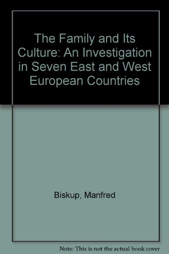 The family and its culture : an: Biskup, Manfred, Vassilis