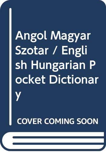 Angol-Magyar Szotar: Orszagh Laszlo