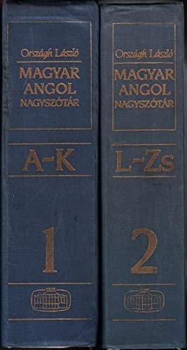 Magyar-Angol Szotar (Hungarian (Hungarian and English Edition): Orszagh Laszlo
