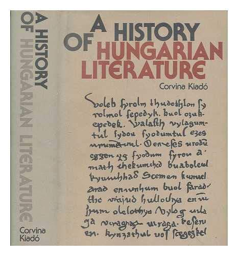 9789631315424: A history of Hungarian literature