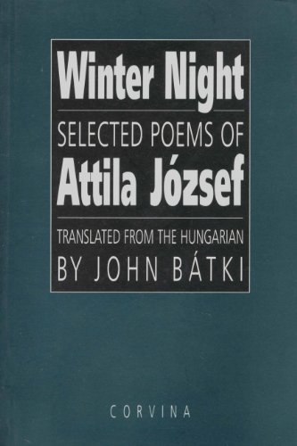 9789631344097 Winter Night Selected Poems Of Attila József