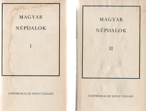 Magyar nepdalok (Hungarian Edition): n/a