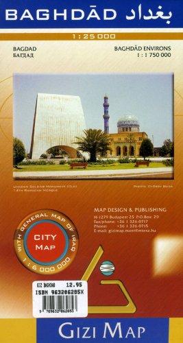 Baghdad City Map 1 : 25 000