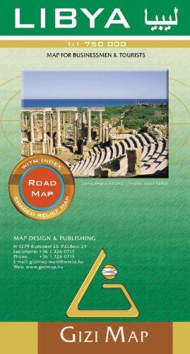 Libya : 1/1 750 000: Gizi Map