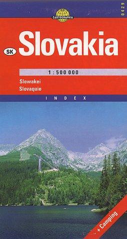 9789633524299: Carte routière : Slovaquie, N° 6429