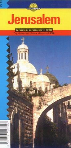9789633527627: Jerusalem (Cartographia City Map)