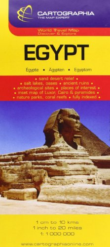 Egypt (Michelin National Maps) (English, French and: Cartographia