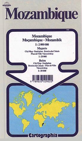 Mozambique. Mozambik Esc 1:2000000: Mapas