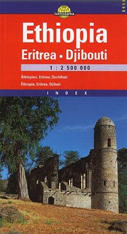 9789633529560: Ethiopia Eritrea & Djibuti (Cartographia International Road Map) (Hungarian Edition)