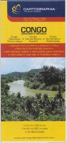 9789633529751: Congo : Democratic Republic (Country Map)