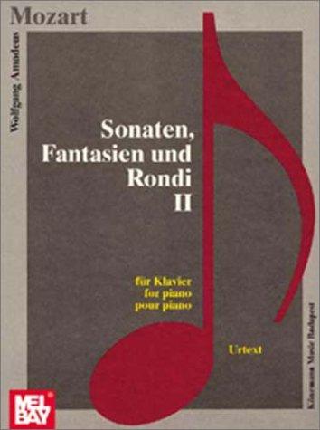 9789638303011: Sonatas, Phantasies & Rondi II (Music Scores)