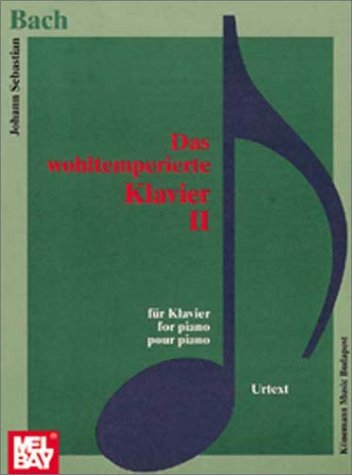 9789638303035: Wohltemperiertes Klavier II (Music Scores) (German Edition)