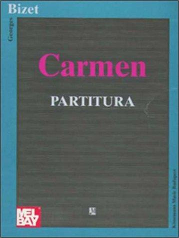 9789638303196: Carmen. Partitura