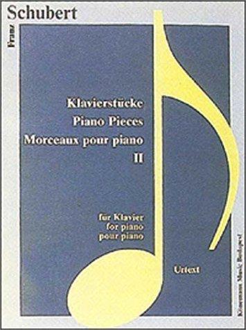 9789638303370: Piano Pieces II: Inmpromptus (Music Scores)