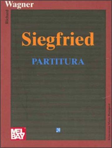 9789638303592: Siegfried: Partitura