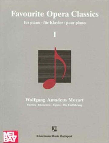9789638303714: Mozart, Favourite Opera I (Music Scores)