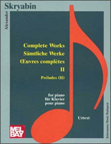 9789638303745: Preludes II (Music Scores)